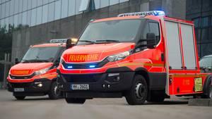 Die Feuerwehr Hamburg musste einen Mann aus einem Schacht befreien