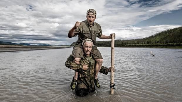 Till Lindemann und Joey Kelly im Yukon