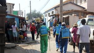 Madagaskar kämpft gegen Lungenpest