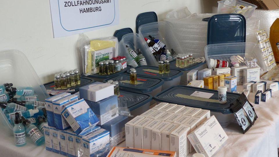 Nachrichten aus Deutschland: Dopingmittel sichergestellt