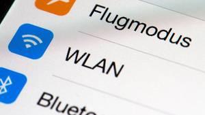 Wlan-Funktion auf einem Smartphone