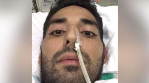 """Videobotschaft vom Krankenbett aus: """"Es tut mir leid, dass ich nicht so gut reden kann"""" - Student bedankt sich für Rekordspende"""