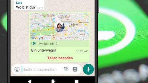 Whatsapp zeigt neue Live-Funktion