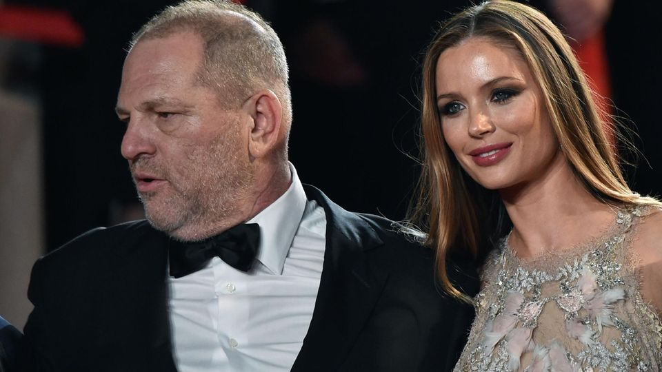 Weinstein mit seiner Frau Georgina Chapman im Mai 2016 in Cannes. Sie hat ihn nach zehn Jahren Ehe verlassen