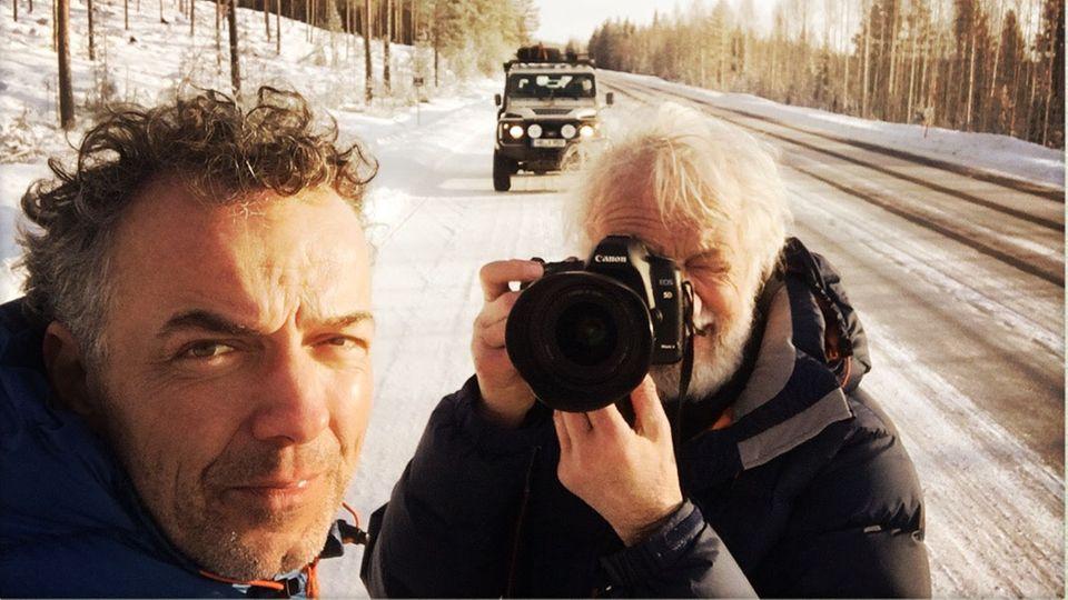 Vater und Sohn in Finnland: Die Fahrt ihres Lebens