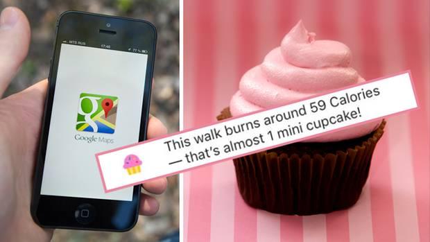 Google Maps - Cupcake Feature