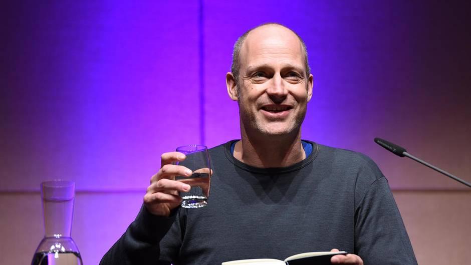 Der Schauspieler Joachim Meyerhoff bei einer Lesung in Köln.