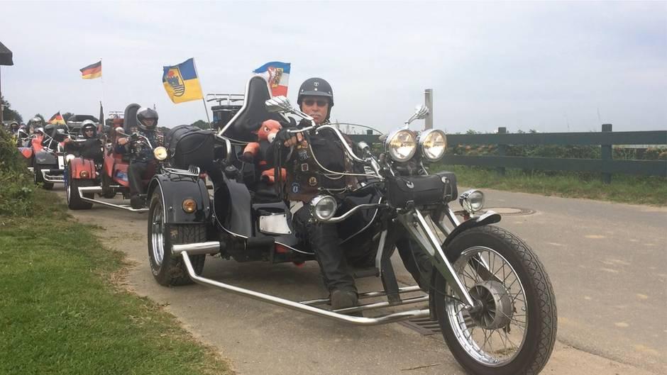 Motorradklub in Schleswig-Holstein: Die große Freude am dritten Reifen - unterwegs mit Trikern