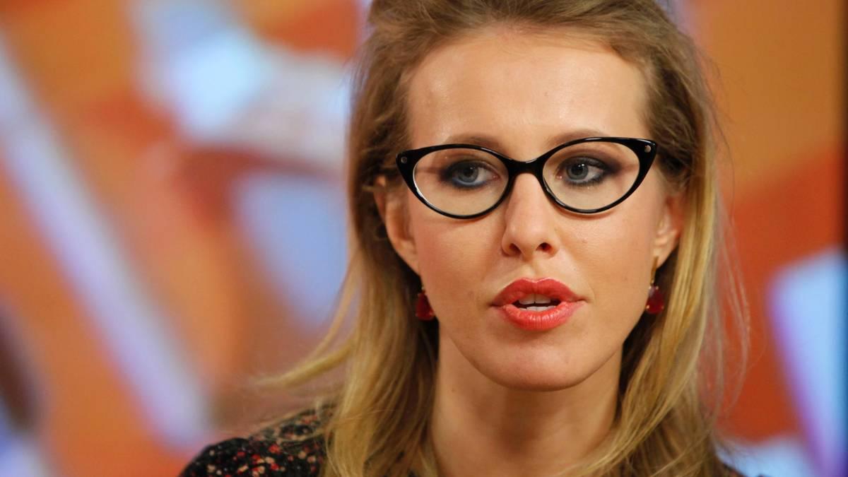Xenia Sobtschak: Diese TV-Moderatorin will Putin bei der Präsidentenwahl herausfordern