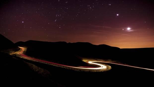Eine Aufnahme, als die Venus am Abendhimmel zu sehen war. Ähnlich soll es beim Uranus ablaufen