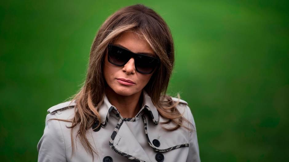 """Irre Verschwörungstheorie um Melania Trump und ihr """"Körperdouble"""""""