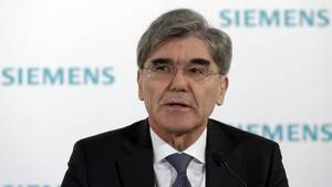 Der Siemens-Chef Joe Kaeser