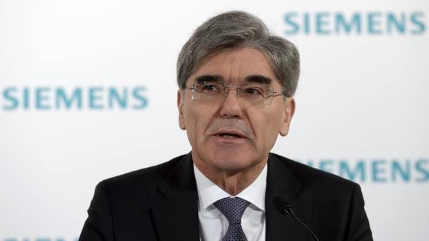 Der Siemens-Chef Joe Kaeser
