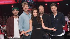 "Die neue Jury der Castingshow ""The Voice of Germany"""