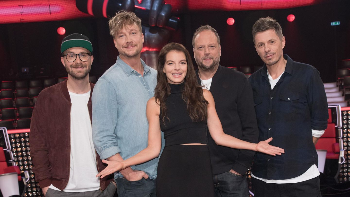 """Die neue Jury der Castingshow """"The Voice of Germany"""""""