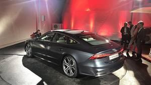 Audi A7 Sportback 2018 - knapp fünf Meter lang