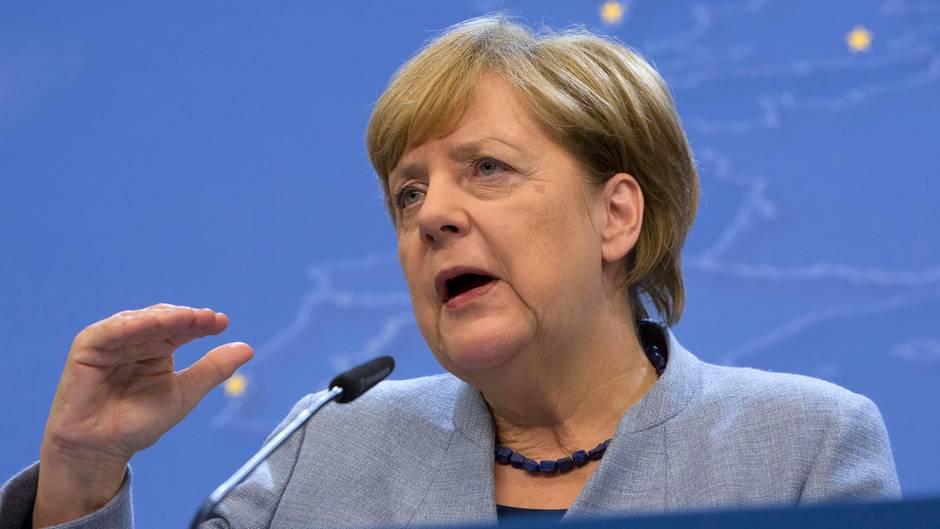 Angela Merkel: EU einig bei Kürzung der Türkei-Hilfen