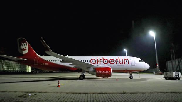 Air-Berlin-Maschine in Island beschlagnahmt