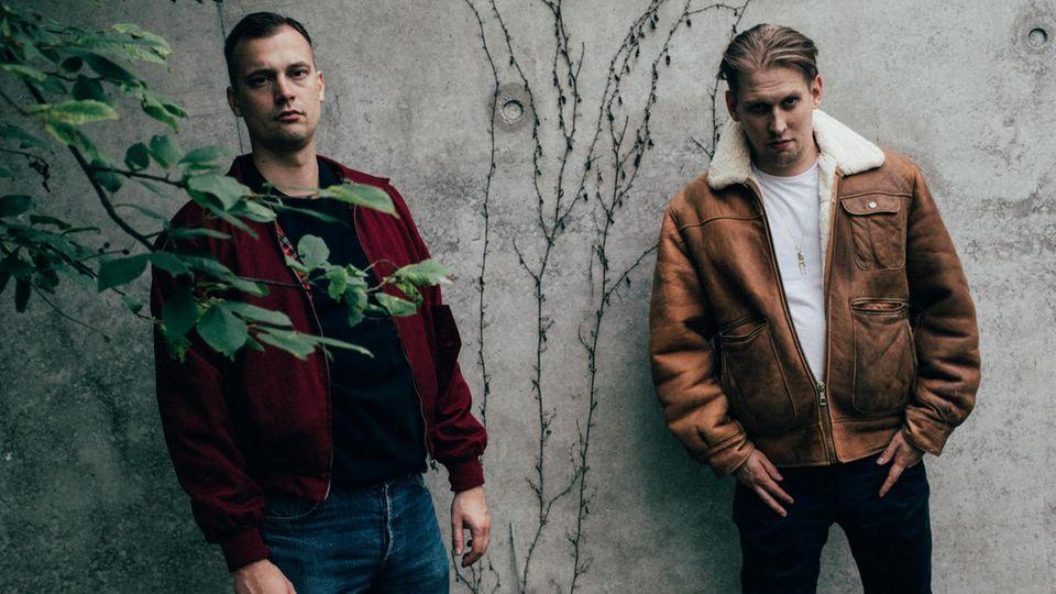 Das Berliner Hip-Hop-Duo Zugezogen Maskulin