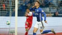FC Schalke 04: Leon Goretzka jubelt
