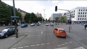 Der Rosenheimer Platz in München (Archiv)