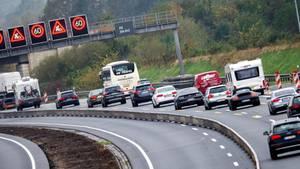 Die Autobahn A2 (Archiv)