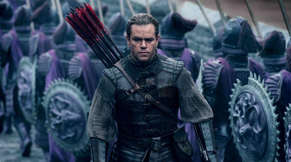 """Sollte die Zuschauer in den USA und China zufriedenstellen, scheiterte aber krachend: Matt Damon in """"The Great Wall"""""""