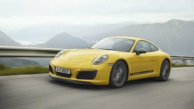 Porsche 911 Carrera T - läuft serienmäßig auf 20-Zöllern
