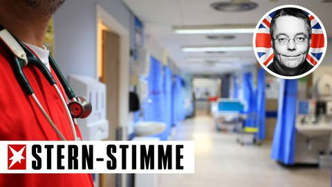 Ein britisches Krankenhaus