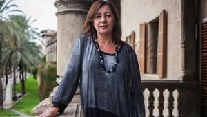 Francina Armengol, die sozialistische Ministerpräsidentin der Balearen
