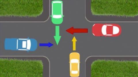 Verflixte Kreuzung: Wer darf hier zuerst fahren? Testen Sie ihr Wissen