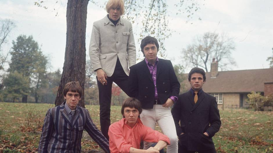 "George Young mit seiner Band ""The Easybeats"""