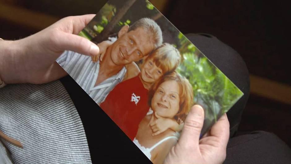 Ein Erinnerungsfoto aus glücklichen Zeiten: Marco, Tochter Miriam und Sylvia Schulze.