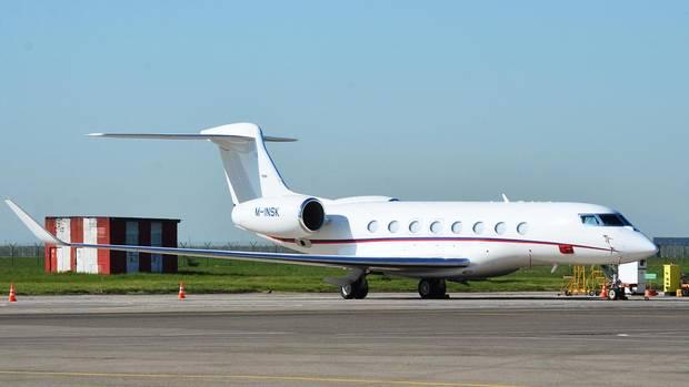 """Ein solches Flugzeug vom Typ """"Gulfstream G650"""" stellt eine Firma in Russland für Instagram-Shootings zur Verfügung (Archivbild)"""