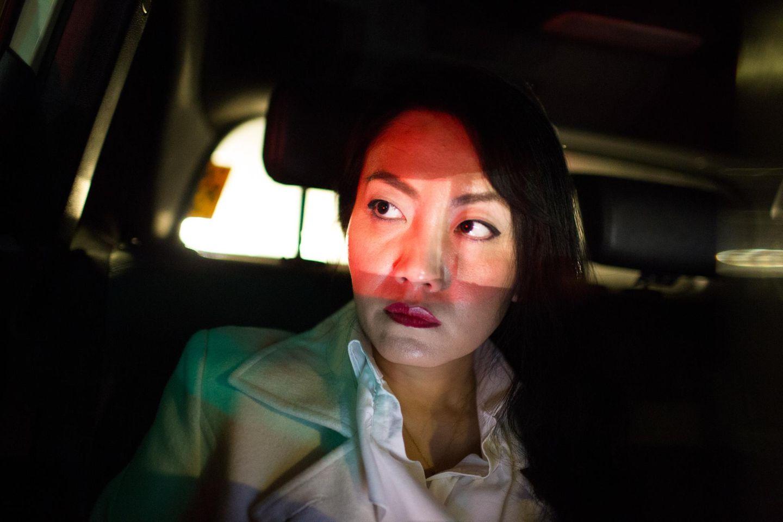 Porträt der in Düsseldorf lebenden chinesischen Geschäftsfrau Yi Sun.