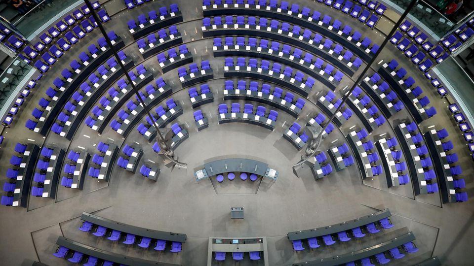 Mit der Konstituierung des Bundestags endet offiziell auch die Amtszeit der bisherigen Bundesregierung