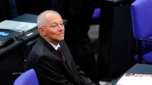 Die Abgeordneten haben Wolfgang Schäuble (CDU) zum Präsidenten des Bundestags gewählt