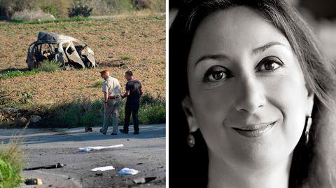Bloggerin Daphne Caruana Galizia fiel am Montag vergangener Woche einem Mordanschlag zum Opfer