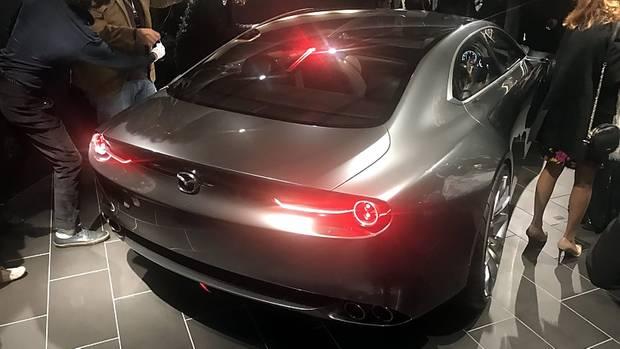 Mazda Vision Coupé Concept - ein realer Ausblick auf den kommenden Mazda 6?