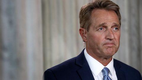 Der republikanische Senator Jeff Flake stellt sich nicht mehr der Wahl - und spricht jetzt wohl freier