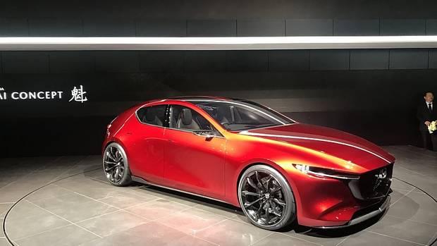 Mazda Kai Concept - ein Ausblick auf den kommenden Mazda 3