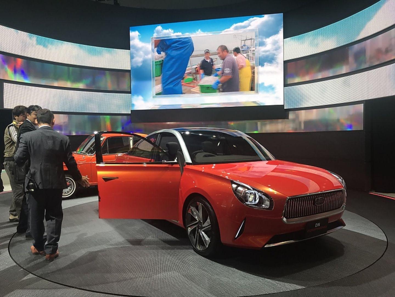 Daihatsu DN Compagno - erinnert an das Modell von 1964