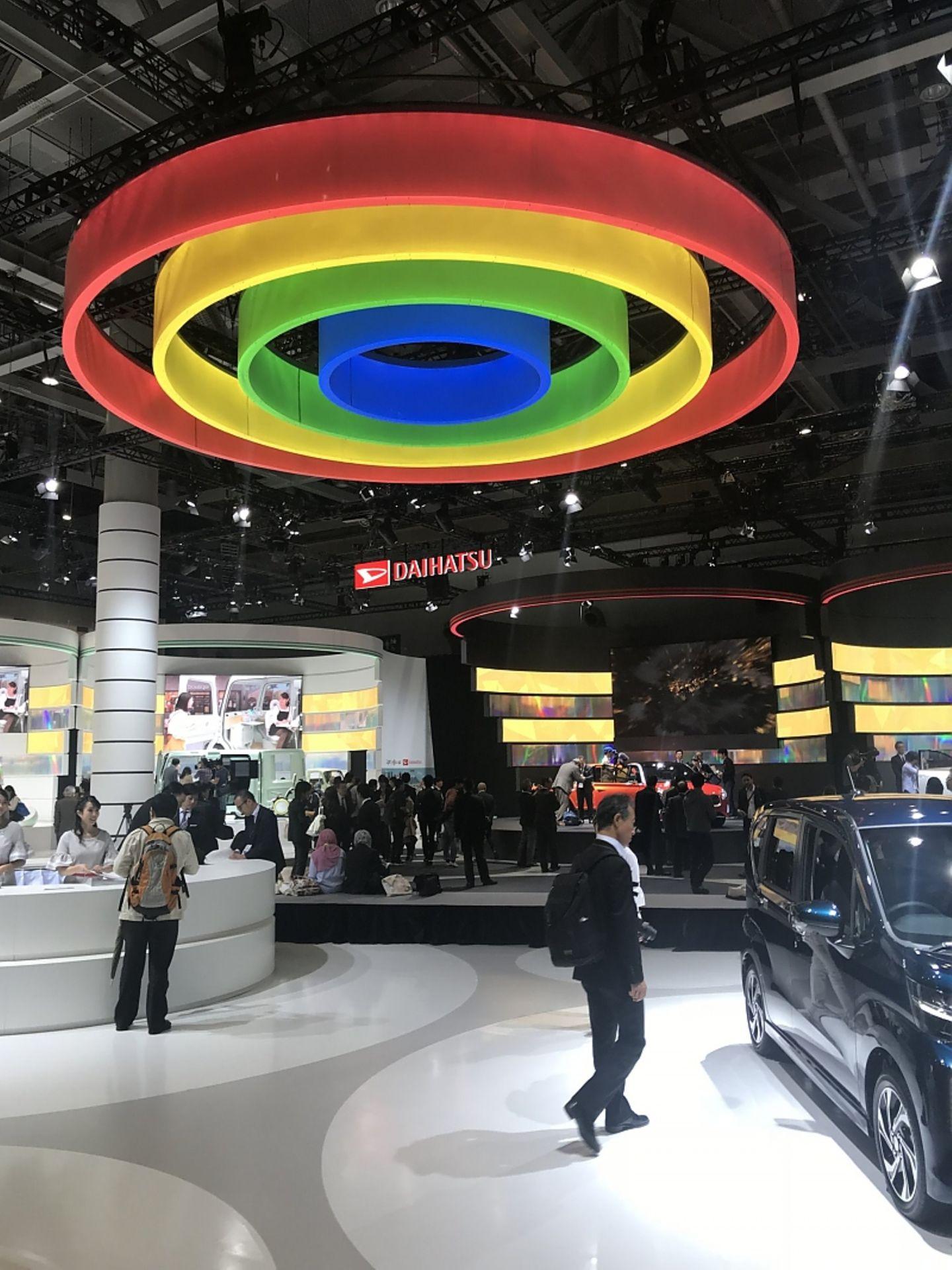 Daihatsu Messestand - gehört längst zur Toyota-Familie