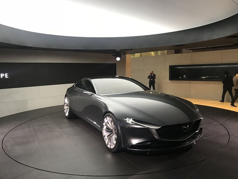 Mazda Vision Coupé Concept - einer der Messestars