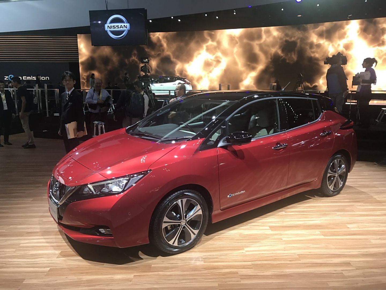 Nissan Leaf II - elektrisch bis zu 500 km weit