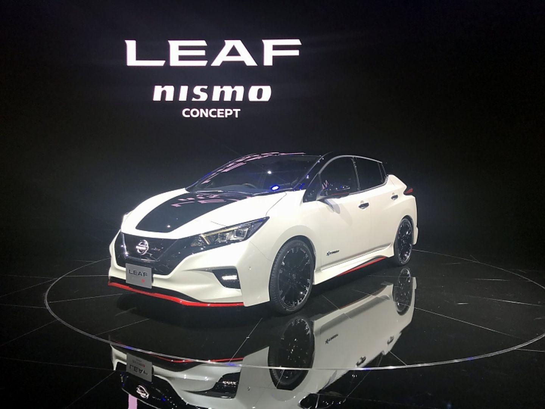 Nissan Leaf Nismo - mit mehr Dampf