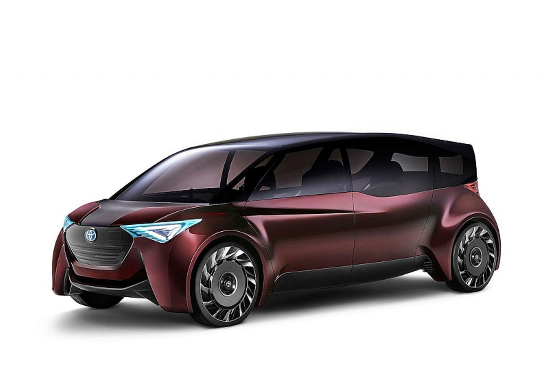 Toyota Fine-Comfort Ride - mit Brennstoffzelle