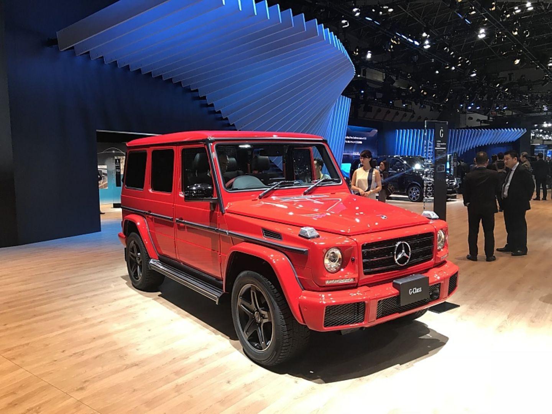 Mercedes G-Klasse - vorletzter Messeauftritt im alten Look