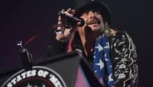 Kid Rock bei einem Konzert in Detroit, USA