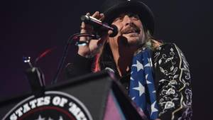Kid Rock bei einem Konzert in Detroit, USA